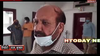 21 oct 11 प्रवासी मजदूरों ने हमीरपुर मेडिकल कालेज में ही लडकी के पोस्टर्माटम के लिए मांग की ।