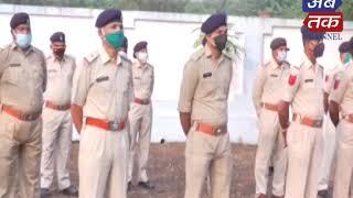 સહીદોને શ્રદ્ધાંજલી આપતી રાજકોટ પોલીસ| ABTAK MEDIA