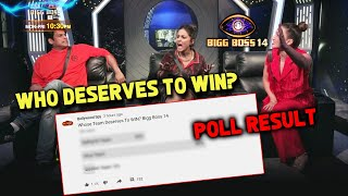 Bigg Boss 14: Which Team Deserves To WIN? Sidharth, Hina, Gauahar | POLL RESULT