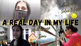 An Eventful Day in my Life : Solar Eclipse, Mini House Tour, Vitamin C Skincare | Nidhi Katiyar