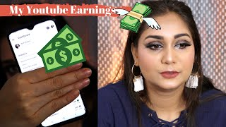 How much do I Earn from Youtube/ Sharing my journey & Revealing my Youtube Earnings/ Nidhi Katiyar