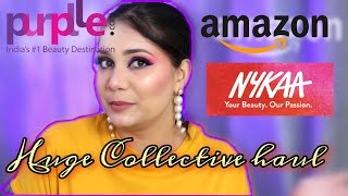 Amazon, Nykaa, Purplle.com Huge Collective Haul / Nidhi Katiyar