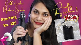 Best Affordale Made In India makeup Brushes | Cuffs N Lashes Makeup Brushes | Nidhi Katiyar