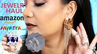 Amazon & Myntra.com Jewelry Haul | Nidhi Katiyar