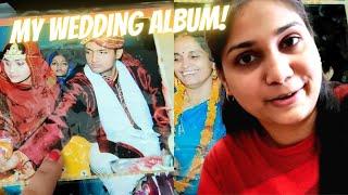 VLOG - Sharing My Wedding Pictures - Married at the age of 19  | Nidhi Katiyar