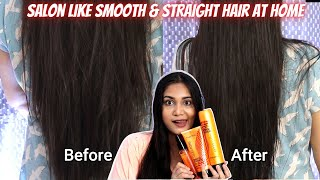Professional Hair Care at home / Frizz Free Smooth, Straight Hair at Home/ Matrix Opti care Range