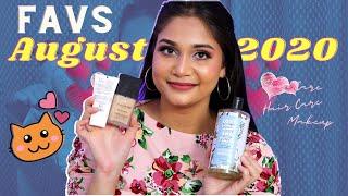 August Favs 2020 / Makeup, Skincare & Haircare Favorites / Nidhi Katiyar
