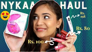 Nykaa Makeup Haul - Affordable Lipsticks Starting Rs. 80 / Nidhi Katiyar