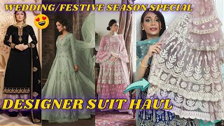 Latest Designer Suit Haul 2020 | Wedding/Festive Season Collection Suits | Josh India Review
