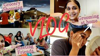 The Most Boring Vlog Ever???? / Catching up with friends, Trying new skincare / Nidhi Katiyar