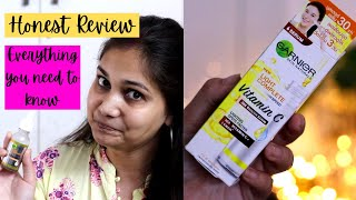 Garnier Vitamin C serum Review | Best vitamin C serum for face??  Nidhi Katiyar