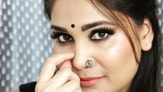 Simple Black Smokey Eyes for Beginner / Nidhi Katiyar