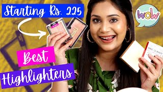 Best Highlighters in India / Starting Rs. 225 / Affordable & Best / Nidhi Katiyar
