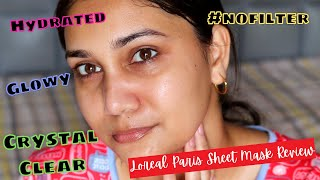 Sheet Masks For Crystal Clear Skin ? Yes /Glass Skin with Just 1 Product  / Nidhi Katiyar
