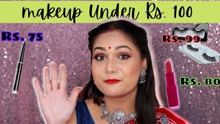 Top 5 Makeup Products Under Rs. 100 / Nidhi Katiyar