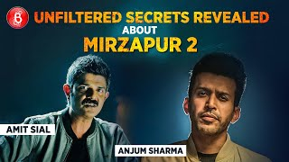 Anjum Sharma And Amit Sial Share Some UNFILTERES Secrets About Mirzapur 2
