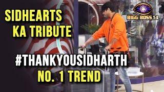 Bigg Boss 14: Sidharth Shukla Aa Ghar Se Bahar, SidHearts Ne Diya Tribute #ThankYouSidharth