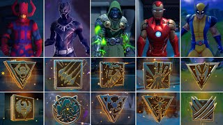 I Won A Game With All 8 Mythic Weapons! Boss Doctor Doom, Wolverine,IronMan, Black Panther, Galactus