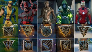 I Won A Game With All 9 Mythic Weapons! Boss Galactus, Black Panther, Doctor Doom, Wolverine,IronMan