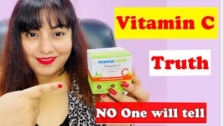 Truth about Vit C  - Does it work ? Ft. Mamaearth Vit C Sleeping Mask | JSuper Kaur