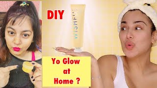 DIY Wishful Yo Glow Enzyme Scrub Dupe | Skincare Dupes in India | JSuper Kaur