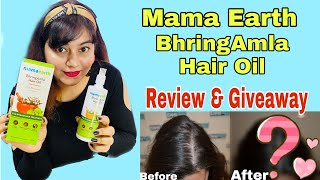 Mamaearth BhringAmla Hair oil | My Review | JSuper Kaur