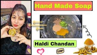 Handmade Haldi Chandan Soap at Home | JSuper Kaur