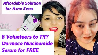 Dermatologist approved treatment to remove acne scars | 10% Niacinamide Serum | JSuper Kaur