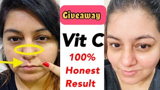Shook ???? after using this Vitamin C Serum | The Derma Co Vitamin C Serum | Giveaway | JSuper Kaur