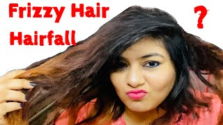 How I tame Frizzy hair & treat Hairfall at home | JSuper Kaur