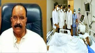 Ex Home Minister Nayini Narsimha Reddy Passes Away | CM KCR Meets The Family |@Sach News