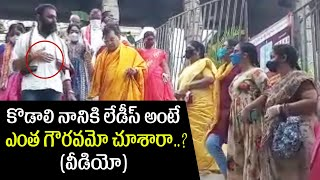 Minister Kodali Nani With His Family Visits Kanaka Durga Temple | Vijayawada | Top Telugu TV