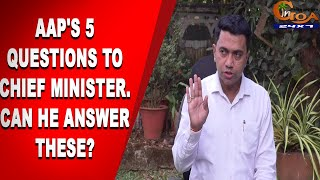 MegaProjects | AAP's 5 questions to Chief Minister. Can He Answer These?