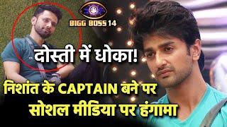 Bigg Boss 14: Nishant Malkani Bane 1st Captain Of House, Par Social Media Par Hua Bawal