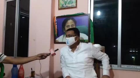 """भाजपा का 'राजनीतिक निधन' निश्चित है"" तृणमूल दार्जिलिंग जिला अध्यक्ष रंजन सरकार ने..."