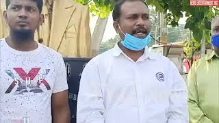 Amberpet MLA Kaleru Venkatesham misbehaved with the Journalist||