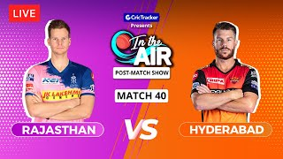 Rajasthan v Hyderabad - Post-Match Show - In the Air - Indian T20 League Match 40
