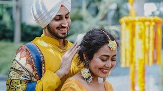 Neha Kakkar & Rohanpreet Singh Haldi Ceremony - #Nehupreet