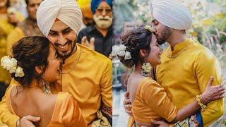 Neha Kakkar & Rohanpreet Singh Haldi Ceremony, INSIDE Pictures