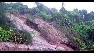 Landslides put Baga Jesuit retreat house at risk