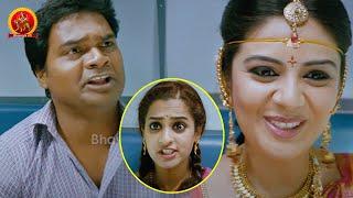 Sreemukhi Runs Away With Her Boy Friend | Savithiri Movie Scenes | Nara Rohith | Nanditha Raj