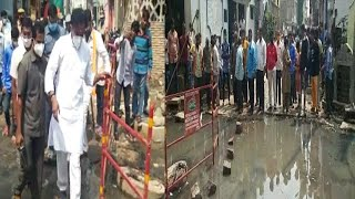 Kishan Reddy Visits The Effected Areas Of Nampally |@Sach News