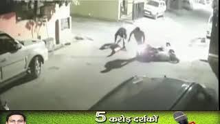 Lucknow News First: 100 मीटर तक बाइक से घिसटते रहे सिपाही पर चोर को नहीं छोड़ा