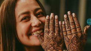 Neha Kakkar Mehandi Ceremony Last Night - #Nehupreet
