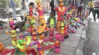 दशहरे पर भारी कोरोना, दिल्ली के सुनसान पड़े बाजार जहां कभी लगती थी लोगों की भीड़