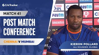 Kieron Pollard speaks about Mumbai's win; Giving opportunities to youngsters
