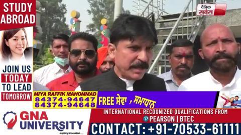 Ludhiana में आपस में भिड़ गए BJP व BSP Workers
