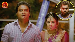 Sreemukhi Escaping With Lover | Savithiri Movie Scenes | Nara Rohith | Nanditha Raj