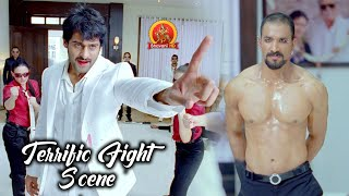 Prabhas Terrific Fight Scene | Veerabali Movie Scenes | Tamannaah | Rebel | Raghava Lawrence