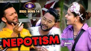 Bigg Boss 14: Nomination Task Me Rahul Vaidya Ne Jaan Par Kiya Nepotism Ka Vaar | BB 14